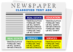 Classified Text Ad